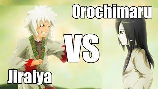 Jiraiya vs Orochimaru! | Who Would Win? | Episode 4