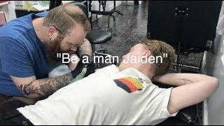 The one where Jaiden gets a tattoo