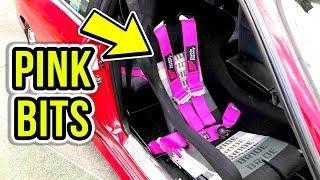 RARE JDM PINK BITS! - Yashio Factory Harness