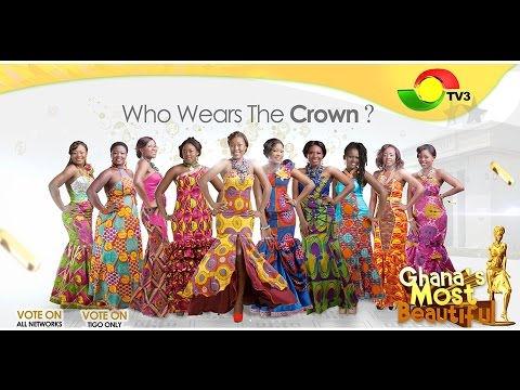 Ghana Most Beautiful GMB 2013