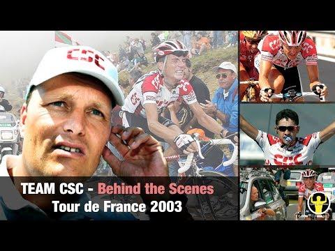 Behind The Scenes: Team CSC - Tour De France 2003 (incl. Hamilton Collarbone Situation)