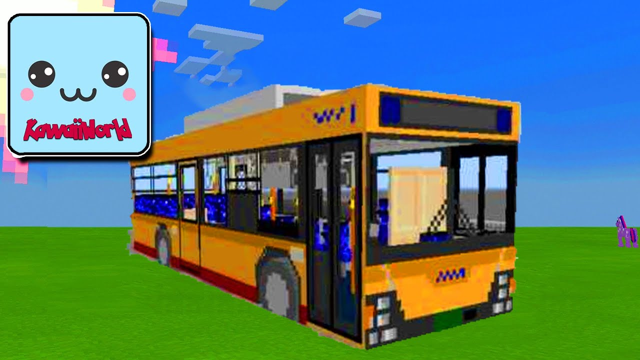 How To Make A BUS in KawaiiWorld?!