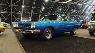 1968 Plymouth Road Runner in Blue Paint & 426 Hemi Engine Sound on My Car Story with Lou Costabile
