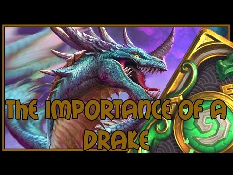 Hearthstone: The importance of a drake (reno mage)