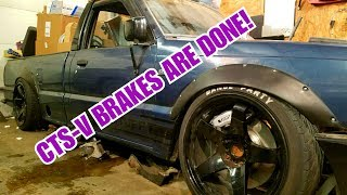 Drift Truck - Supra Knuckles and CTS-V Caliper Completion!