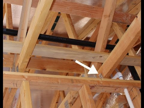 Roof Truss Movement Requires Interior Wall Framing Hardware – Truss Clips