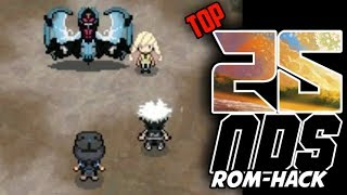 Top 25 Pokemon NDS ROM HACKS With New Features! (2019)