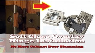 How to install concealed overlay hinges