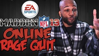 Tony Romo and Dez Bryant Embarrass a Youtuber - Madden NFL 13 Online Rage Quit