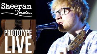 Ed Sheeran Playing Prototype W04 Sheeran By Lowden Live
