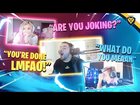 BROOKE AND SYMFUHNY COUPLE COUNSELING WITH COURAGE! IT GOT INTENSE! (Fortnite: Battle Royale)