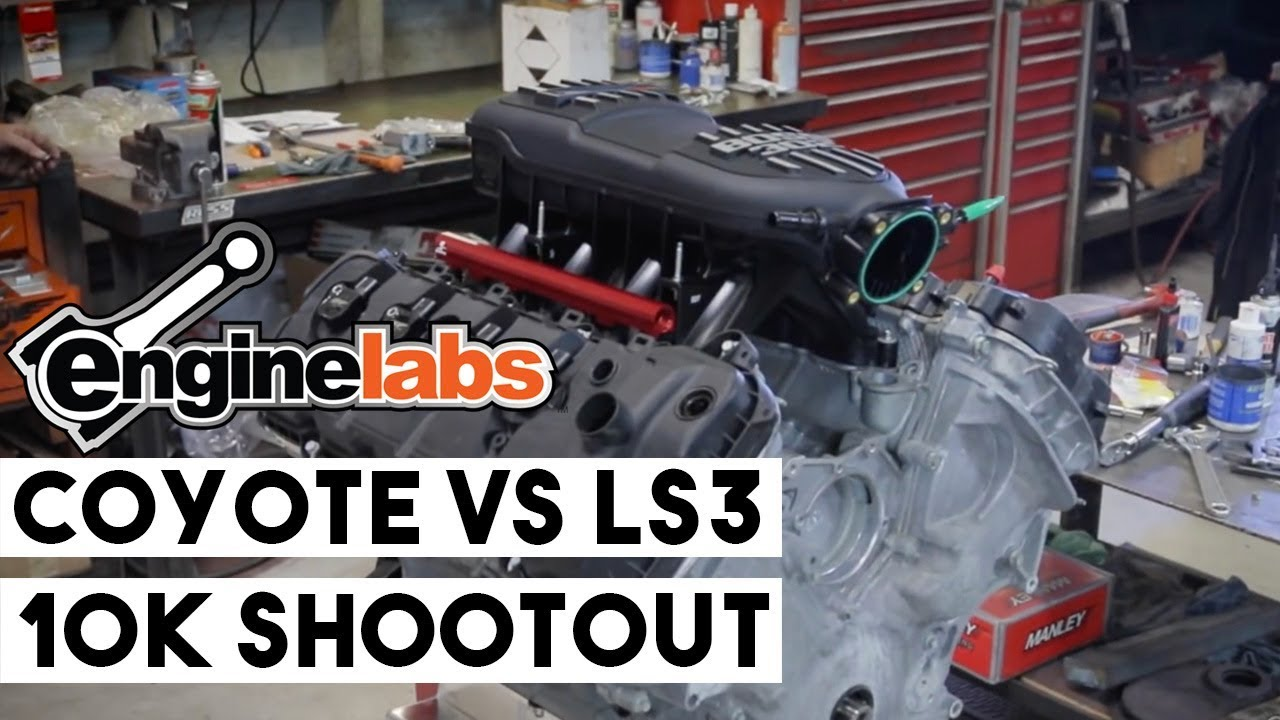 Tech: LS3 Versus Coyote Budget Engine Shootout -- Building