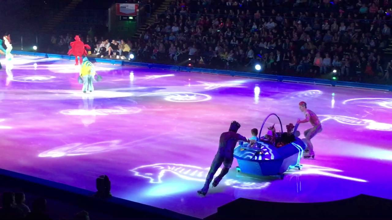 The Little Mermaid Disney On Ice Silver Anniversary
