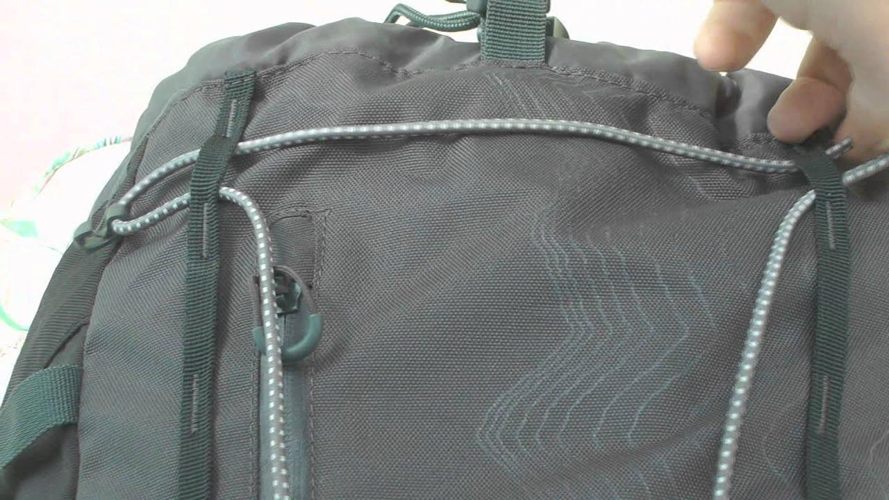 ecbda9aa3bdd Fixing the elastic webbing on the Vango Sherpa rucksack - YouTube