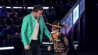 """Angelito García canta """"La de los hoyitos"""" en La Voz Kids"""