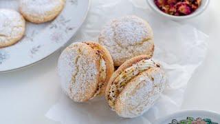 Persian Latifeh Cookies  طرز تهیه ی شیرینی لطیفه