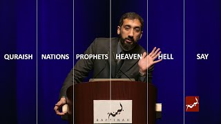 Heavenly Order of Surah Saad - Nouman Ali Khan - Singapore 2015
