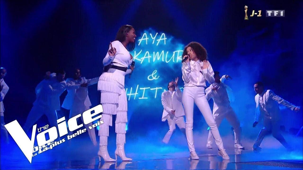 Download Aya Nakamura et Whitney - Djadja | Whitney | The Voice 2019 | Final