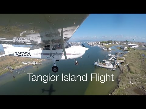Mother's Day Flight - Trip To Tangier Island (KTGI)