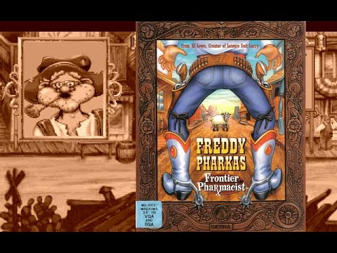 Freddy Pharkas Review - Sierra Western Adventure Game