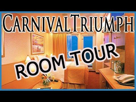 Carnival Triumph Balcony Cabin 6246