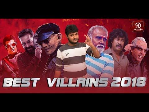Best Villain 2018 | Rajinikanth | Akshay Kumar | Samuthirakani | Nana Patekar | Arjun