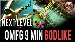OMFG 9 Min Godlike ZipFile Pudge 99% Hook Master New Legend Dendi in Dota 2