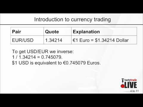 Introduction to Currency Trading