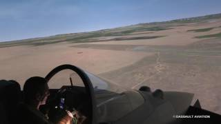 Rafale demonstration commented by Marty at the simulator - 2017 Paris Air Show - Dassault Aviation