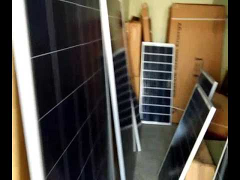 All types of Solar panels for sale at low price in India