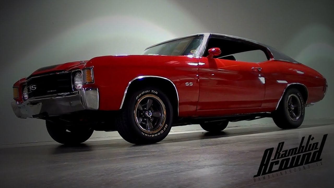 1972 Chevy Chevelle SS 402 Big-block V8 Muscle Car - YouTube