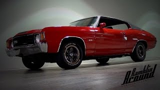 1972 Chevy Chevelle SS 402 Big-block V8 Muscle Car