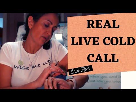 Cold Calling 8- Live B2B cold call.