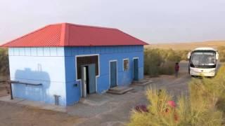 塔克拉瑪干沙漠公路 新疆南疆