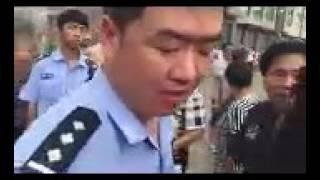 福建福清三山镇沁前村拆迁警察带领混混殴打村民(此为后续处理)