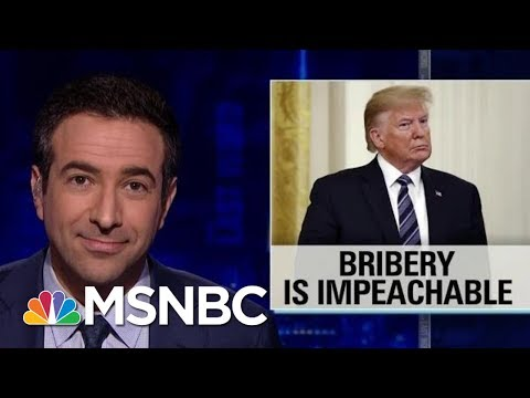Rep. Adam Schiff: President Donald Trump Could Be Impeached For Bribery | The Last Word | MSNBC