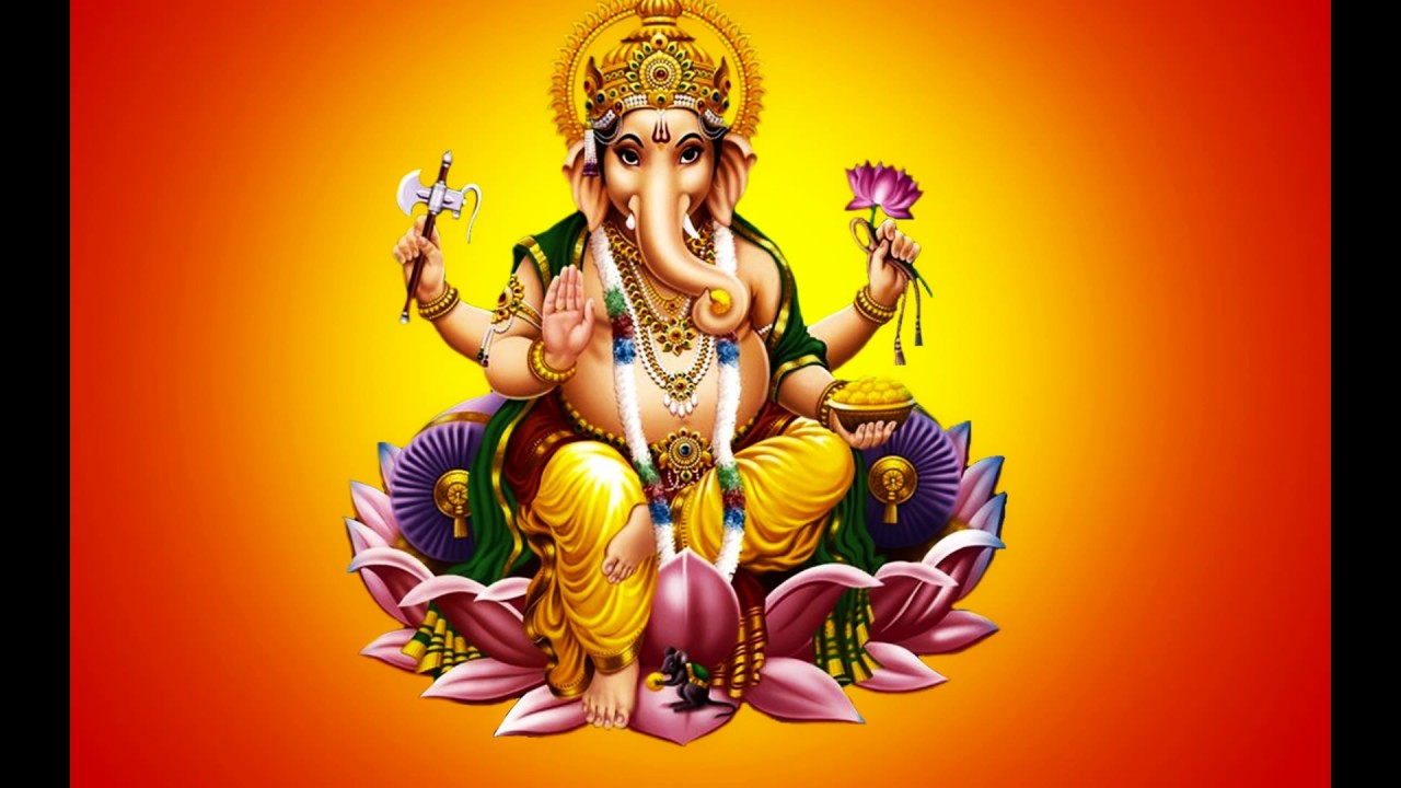 God Ganesh Hd 3d Wallpaper Good Morning Ganesha With Images Lord Ganesha Hd Video