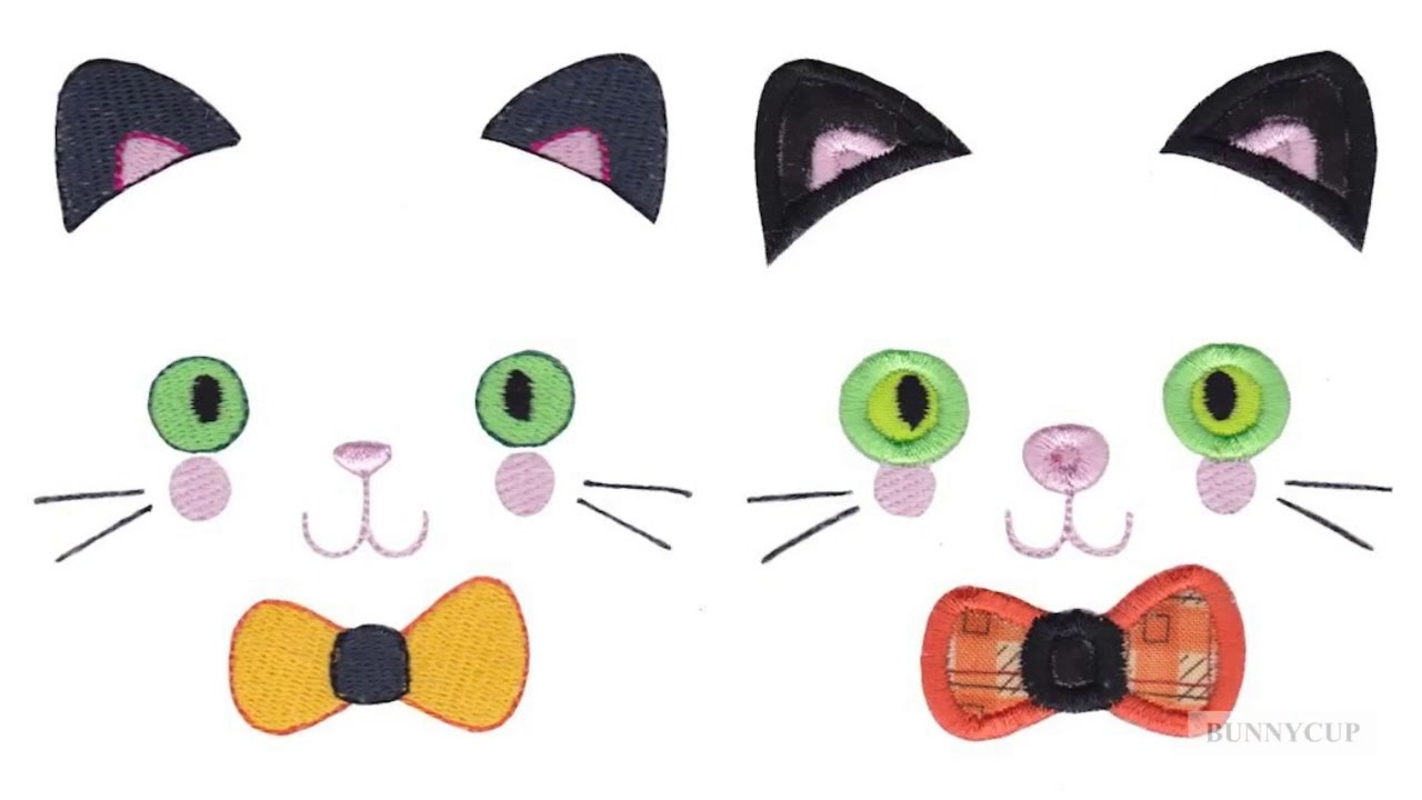 Halloween Faces Embroidery Designs Youtube