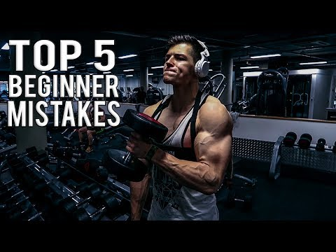 Top 7 Common Bodybuilding Mistakes Produced by Beginners