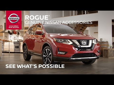 2017 Nissan Rogue Accessories Overview (Full Length)