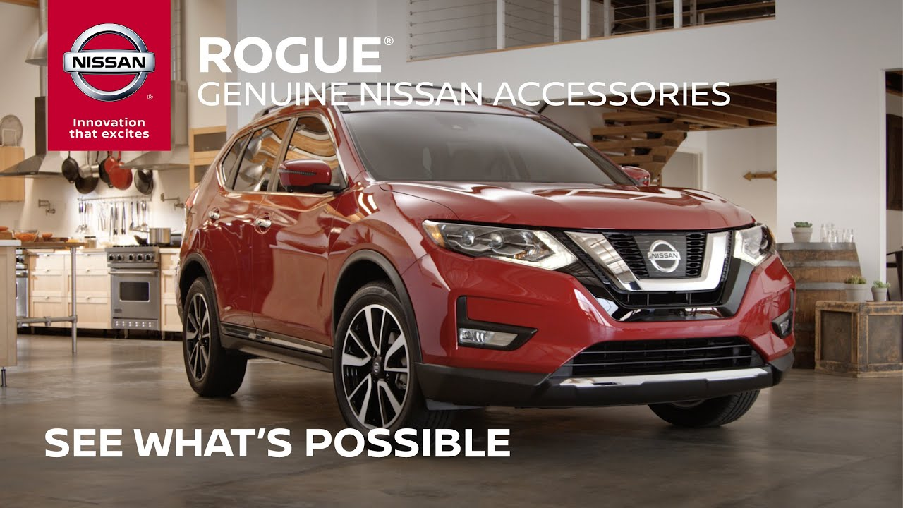 2017 Nissan Rogue Accessories Overview  Full Length    YouTube