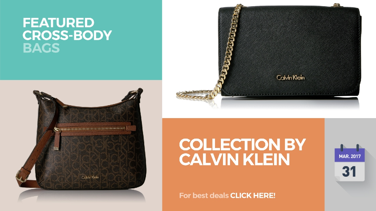 11e9d46ad93 Collection By Calvin Klein Featured Cross-Body Bags - YouTube