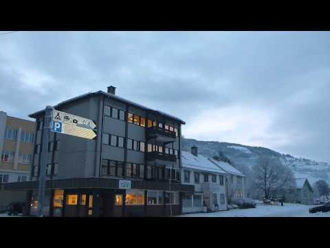 Town Centre of Voss   Norway   February 2015