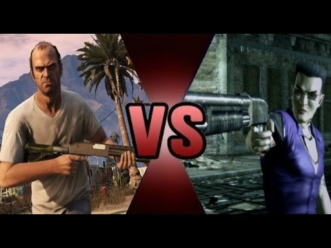 Trevor Philips Vs Johnny Gat Youtube
