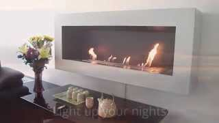 Bio Ethanol Fireplaces AFIRE: the Magical of a Remote Controlled Design Fireplace
