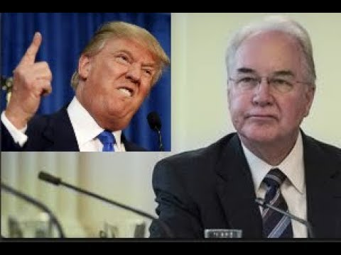 Tom Price RESIGNS from being the Health and Human Services Secretary in  Trump's administration