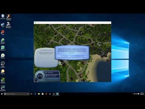 The Sims games running on Windows 10 - YouTube