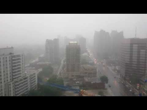 North York, ON Canada: Rain 2