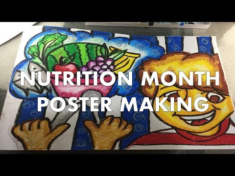Poster Making Nutrition Month Youtube