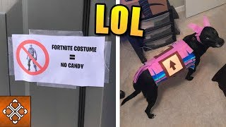 12 Funniest Things That Happened In Fortnite This Halloween